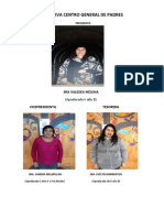 Directiva Centro General de Padres 2018