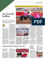El Comercio (Lima-Peru) Lun 27 Ago 2018 (Pag A25) Pagina Taurina