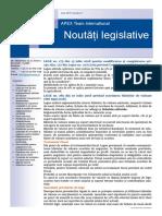 APEX Team Noutati Legislative 7 2018