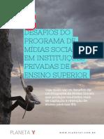 13 Desafios Do Programa de Midias Sociais Em Intituições Privadas de Ensino Superior