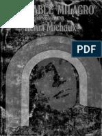 Michaux, Henri - Miserable milagro (La mescalina) 1969.pdf