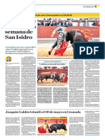 El Comercio (Lima-Peru) Lun 4 Junio 2018 (Pag A33) Pagina Taurina