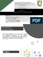 Generalidades de Inmunohematologia