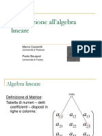 IntroduzioneAlgebraLineare.ppt