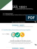 OHSAS 4.3.1 Amirul althof.pptx