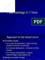 Haematology Revision - Dec 2013