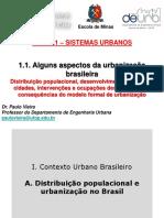 URB 121 - 1.1 - Aspectos Da Urbanização