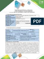 Guía de Actividades y Rúbrica de Evaluación -Fase 1- Reconocimiento Del Curso