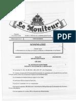 DECRET Fixant Regl.march.pub.Serv.fourn.trav (CNMP Texte de Loi)