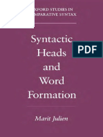 [Oxford Studies in Comparative Syntax] Marit Julien - Syntactic Heads and Word Formation (2002, Oxford University Press, USA)_2