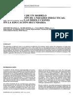 Aplicación de Un Modelo de Planificación UD