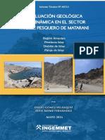 A6713-Evaluacion Geologica..Muelle Pesquero Matarani-Arequipa