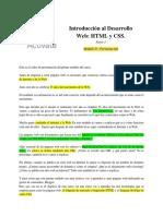 Parte I - 0.1 Actívate - IDESWEB. Módulo 1, Presentación