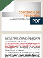 2 Comision de Personal Conformacion