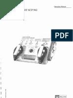 Hellige Defiport SCP 912 - User Manual