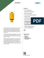 2270 Ultrasonic Level Sensors Spec Rev C