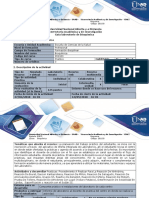 Guía Para El Desarrollo Del Componente Práctico –Laboratorio Presencial de Bioquímica.