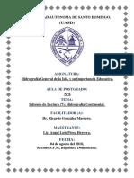Informe Lectura (7 )Hidrografia Continental