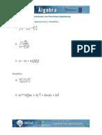 u2 t3 Operaciones Con Fracciones Algebraicas