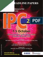 2017 IPC Post Deadline Papers Program Updated