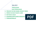 Menu Jampersal 2018