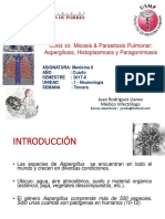 Aspergilosis Histoplasmosis Paragonimus