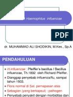 Kuliah 5 - RESPIRATORY TRACT INFECTION 3 (HAEMOPHILUS INFLUENZAE).ppt