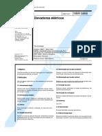 NBR 5666 TB 6 - Elevadores Eletricos.pdf