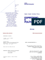 Espiritismo_e_Politica_-_Aylton_Paiva_-_1a_edicao_-_prefacio_de_Jaci_Regis_-_PENSE.pdf