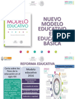 Presentacion Nvo. Modelo Educativo 2018