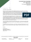 Norovirus Letter