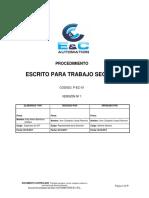 P-EC-01 Procedimiento Escrito Para Trabajo Seguro (2)