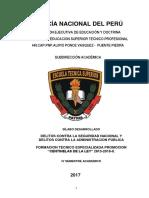 SILABUS Delitos Contra La Seguridad Nacional y La AP
