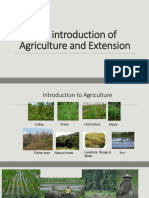 The introduction of Agriculture and Extension.pdf
