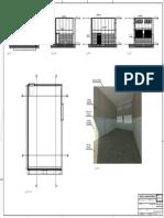 Projeto Laboratório UEM Folha F01 Planta Cortes e Imagens 3D