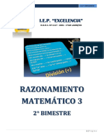 Modulo 3º Raz. Matematico - II Bimestre