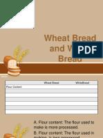 Wheat Bread and White Bread