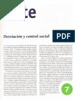 Desviación y control social