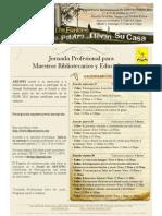Promo Jornada Feria Del Libro