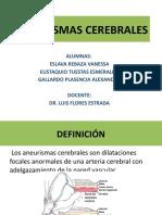 ANEURISMAS-CEREBRALES