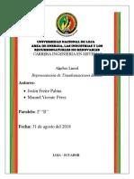 Informe Algebra Linela Expo