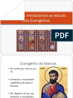 Elementos Introdutórios Ao Estudo Dos Evangelhos