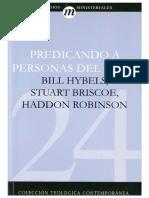 24 Hybels C Briscoe C Robinson - Predicando a Personas del Siglo XXI.pdf