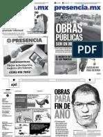 Presencia.mx edición del 03 al 09 de septiembre de 2018