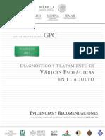ER_Diagnóstico y tratamiento de várices esofágicas en el adulto