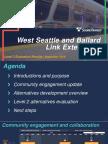 Sound Transit light-rail alternatives evaluation