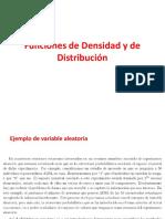 Capitulo 2 Funciones de Densidad y de Distribución