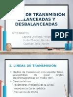 Líneas de Transmisión Balanceadas y Desbalanceadas