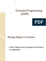Object Oriented Programming 29 10