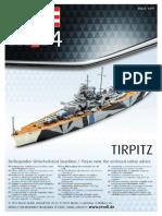 Tirpitz Plastic Model Kit
